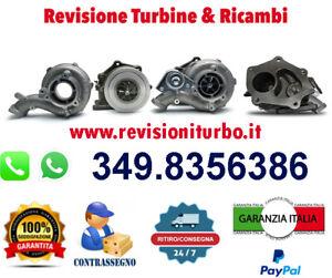 TURBINA REVISIONATA ALFA FIAT 147 156 159 115 120 140 150 CV 1.9 JTD