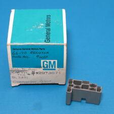 NOS GM 9-Wire Hi/Low Resistor Connector 1958-1963 Chevy Corvette