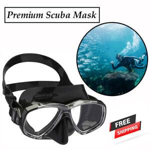 Equipment Goggles Cressi Swimming Diving Face Scuba Mask Snorkel Set Adult Dive