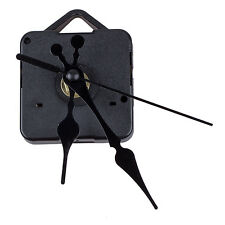 Clock Movement Mechanism with Black Hour Minute Second Hand DIY Tools Kit C Q2N0