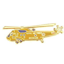 Seaking Rescue Tie Pin - Enamel Tiepin / Lapel Badge Sea King