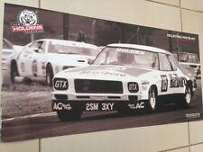 RARE V8 HOLDEN PETER BROCK MONARO RACING CAR  POSTER-BIG 700MM BARGAIN