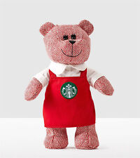Starbucks Holiday 2016 Winter Bearista Bear Red Apron Limited Edition Gift