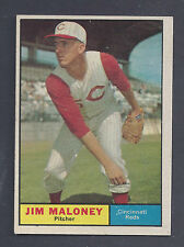1961 Topps #436 Jim Maloney Cincinnati Reds