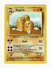 1999 Pokemon Base Unlimited Dugtrio #19/102 – NM