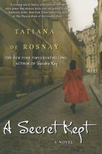 A Secret Kept: A Novel by de Rosnay, Tatiana