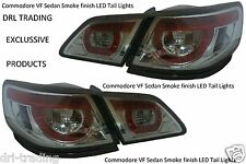 Aftermarket Smoke Finish LED Tail Lights for Holden Commodore VF Models SS SV6