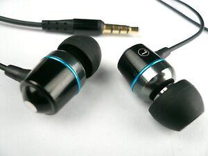 Furi Premium In-Ear Headset Kopfhörer HighEnd schwarz mit Mikrofon
