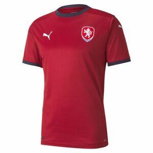 Puma Football Soccer Czech Republic Mens Home Jersey Shirt 2020 2021