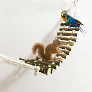 50cm Naturals Rope Ladder Bird Toy Flexible Bridge Swing Parrot Pet Train Toys