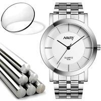 Fashion Luxury Men's Dial Stainless Steel Analog Quartz Wrist Watch Bracelet