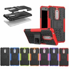 Heavy Duty ShockProof Stand Case Cover Military Builder for Nokia 2 3 5 6