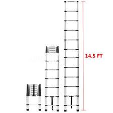 14.5FT Step Ladder Extension Telescoping Lightweight Portable Telescopic US