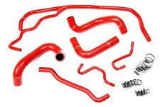 HPS Red Silicone Radiator Hose Kit Coolant OEM Replacement 57-1725-RED-1
