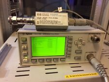 Agilent HP E4418B EPM Series RF POWER METER & E4412A Power Sensor 10 MHz - 18GHz