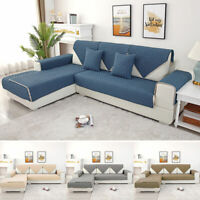 Sofa Slipcover Couch Cover Sectional Seat Pad Decorative Towel Protect Cloth NEW