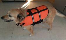 Dog Life Jacket Buoyancy Aid Pet Swimming Boating Reflective Safety Vest Suit CZ
