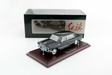 1:24 HongQi CA770 Limousine 1965 Black Century Dragon Diecast Model