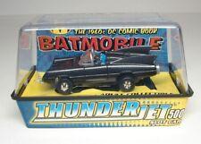 JL JOHNNY LIGHTNING BATMOBILE TJET HO SLOT CAR - MIB - DC COMIC - CHARCOAL GREY
