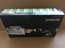 Original Lexmark Toner C5240KH schwarz black für Drucker C524 C534 mit Rechnung