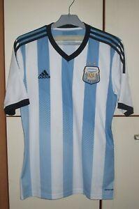 Argentina 2013 - 2014 Home football shirt jersey Adidas size M