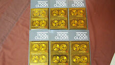 Vintage, Reel Cleer, New Cassette Tape Lot, Gold Reel To Reel In Package, 12