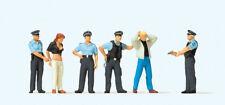 Preiser  10589 Emergency Personnel -- Under Arrest  1:87 HO