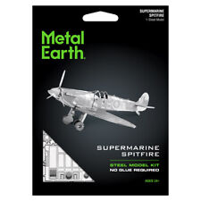 Fascinations Metal Earth 3D British WWII Supermarine Spitfire Aircraft Model Kit