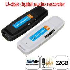 Mini USB Digital Pen Audio Voice Recorder Dictaphone 32 GB Flash Drive U-Disk