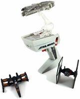 Hot Wheels Star Wars Millennium Falcon X-Wing Tie Fighter Flight Controller LOT