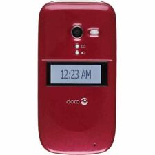Consumer Cellular Doro PhoneEasy 626 - Burgundy