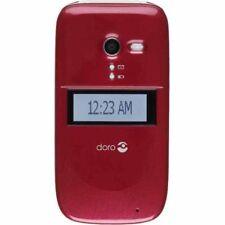 Consumer Cellular Doro PhoneEasy 626 - Burgundy