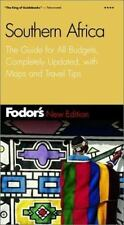 Fodor's Southern Africa, 2nd Edition: The Guide for All Budgets,-ExLibrary