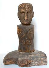 Ceremonial Ancestor Post Figure Tau Tau, Toraja