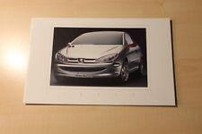01393) Peugeot 206 CC Prospekt 03/1998