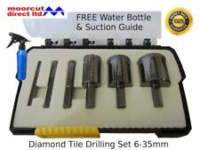 Tile Drilling Diamond Hole Saw Set 6-35mm for Ceramics, Porcelain, Marble, Glass