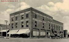 Webster,S.D.Opera House,Horse Drawn Wagons,Day County,Used,Webster,1913