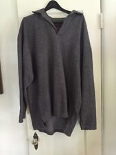 """ABERCROMBIE & FITCH """"The Big Shirt"""" Mens Large Gray Pullover Sweatshirt"""