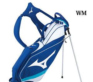Mizuno Tour Slim Stand caddy bag 5LJC202600 New 7 47 inch Stand White/Blue