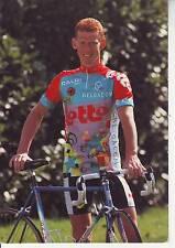 CYCLISME carte cycliste PETER ROES équipe LOTTO caloi mavic 1993