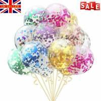 "Christmas Confetti Balloons Latex 12"" Decorations Helium Birthday Party Wedding~"