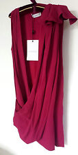Women's Viktor Rolf silk blend top pink color size IT 42 UK M/ L BNWT RRP 335 €