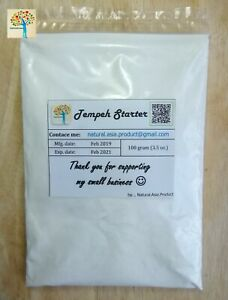 100 g Tempeh Starter Tempe Culture gute Qualität Rhizopus Oligosporus Long exp