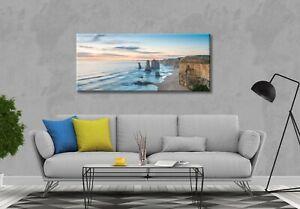 Home Decor Canvas Print Panorama Ocean Beach Nature landscape wall art no frame