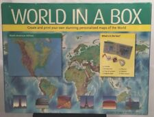 World In A Box, Create & Print Maps Of The World, New Sealed