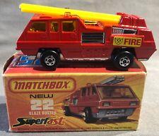 Matchbox Superfast Blaze Buster #22 'Sullys Hobbies'