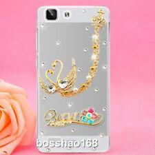 Handmade Bling Clear Crystal Diamonds Soft TPU back thin Phone Case Cover Skin 3