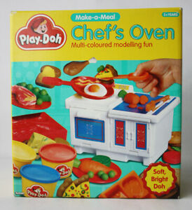 RARE VINTAGE 1992 PLAY DOH CHEF'S OVEN PLAYSET MAKE A MEAL KENNER TONKA NEW NOS!