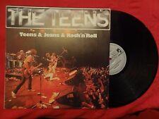 THE TEENS Teens & Jeans & Rock 'n' Roll LP 1979 SPAIN PRESS (EX-/EX-) F