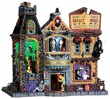 Lemax 35492 GRIM REAPER'S DEPARTMENT STORE Spooky Town Building Sights Sounds I